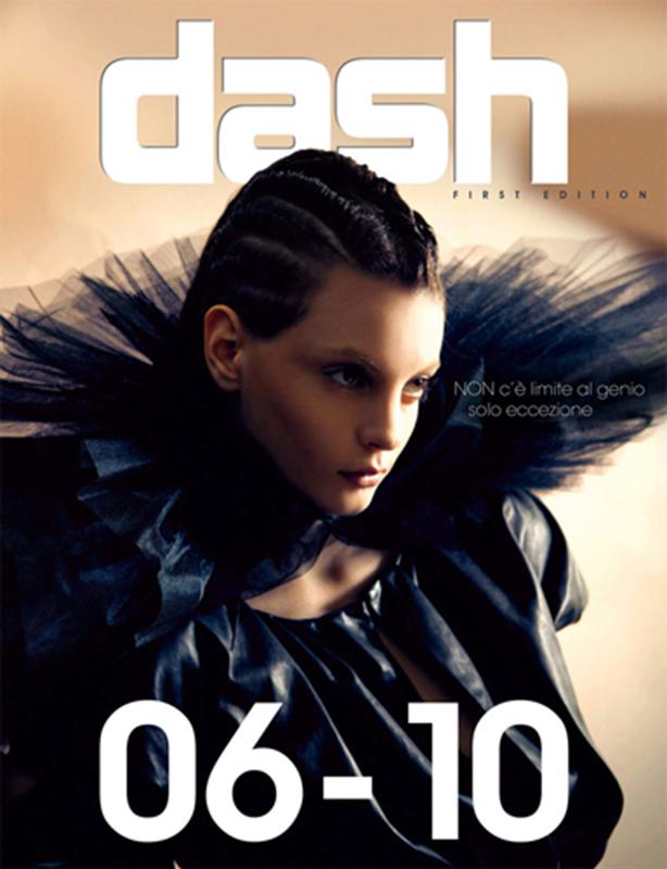 Dash - magazine - cover - Hair stylist Stefano Gatti