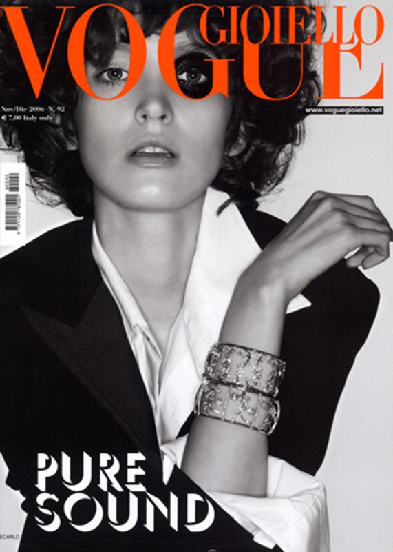 Vogue Gioiello - magazine - cover - Hair stylist Stefano Gatti