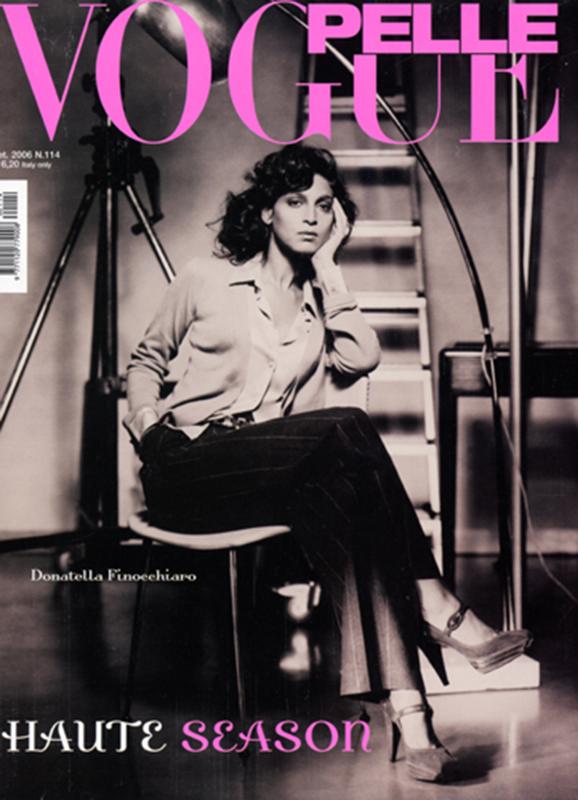 Vogue Pelle - magazine - cover - Hair stylist Stefano Gatti