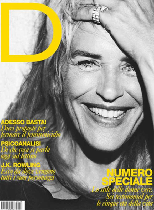 D La Repubblica - magazine - cover - Hair stylist Stefano Gatti