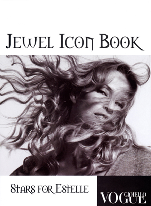 Jewel Icon Book - magazine - cover - Hair stylist Stefano Gatti