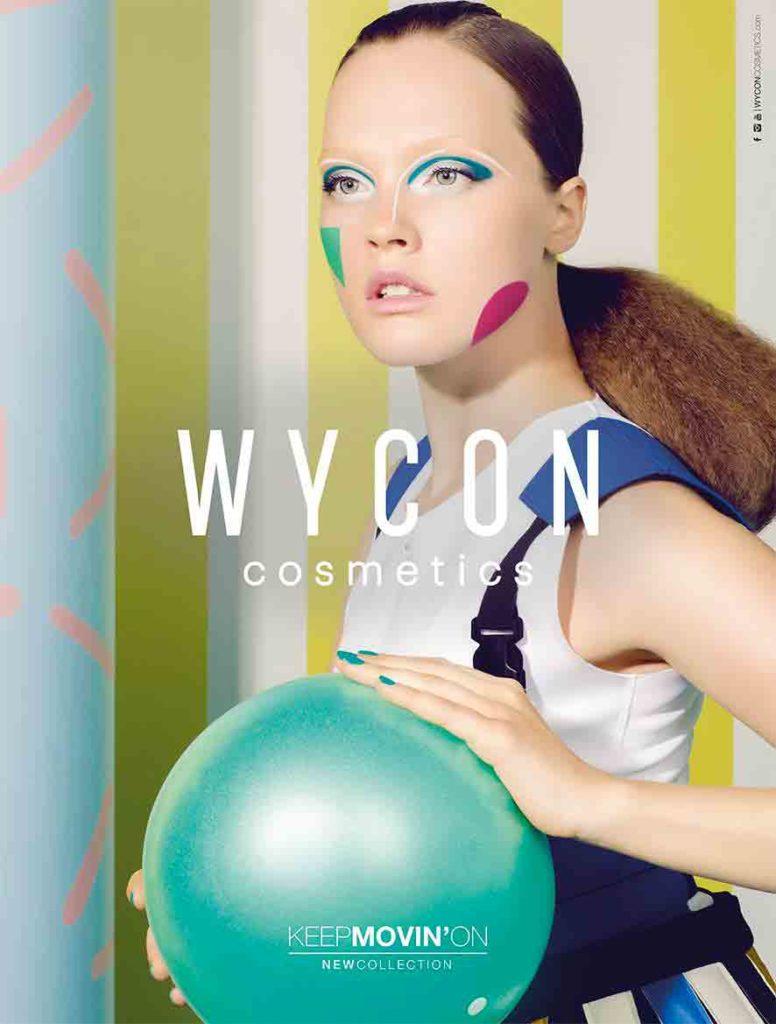 Wycon - cosmetics - adv - make up - Stylist Giulia Meterangelis
