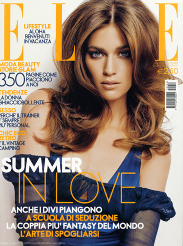 Elle Italia - magazine - cover - Hair stylist Stefano Gatti
