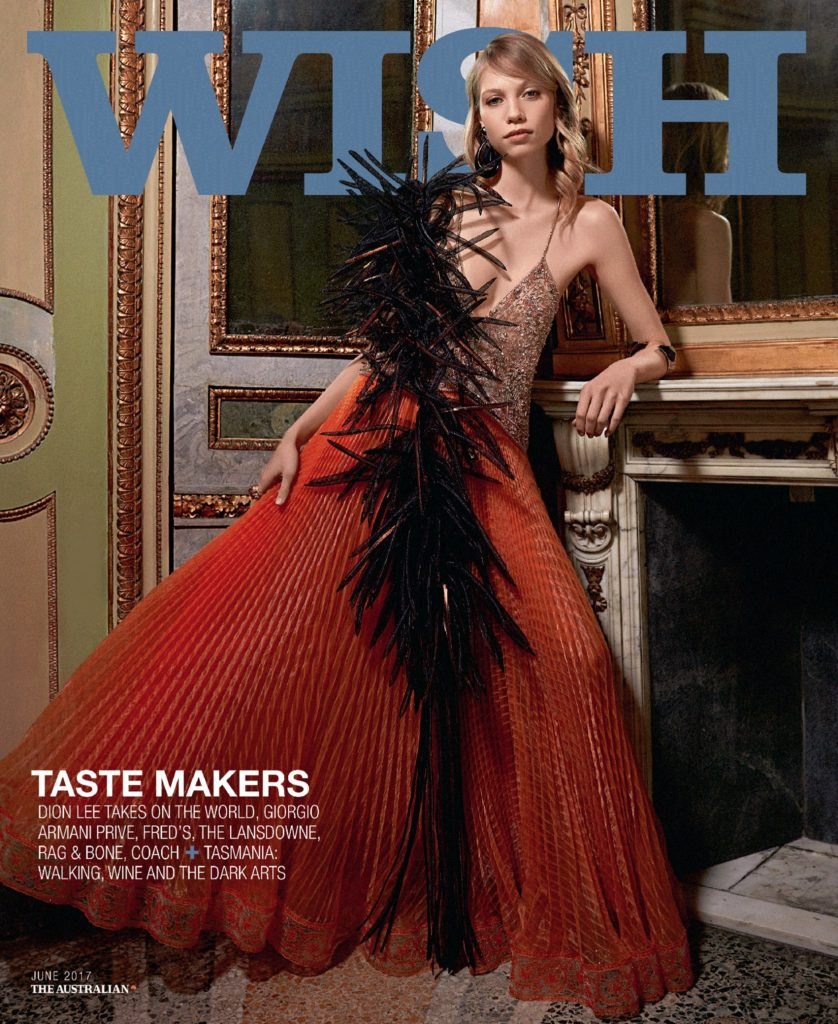 Wish - magazine - cover - Hair stylist Stefano Gatti