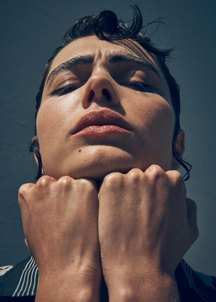 Elle australia - Photographer Simon Lekias - Stylist Sara Smith - Hair stylist Rory Rice