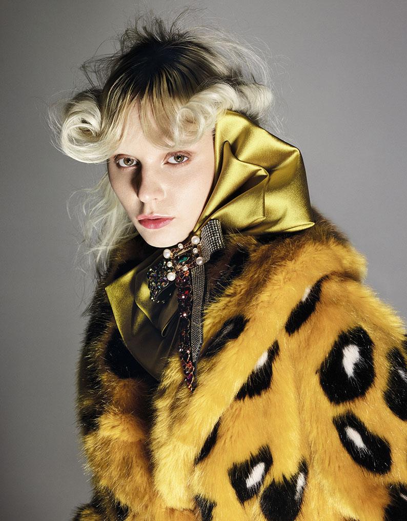 D La Repubblica - photographer Emilio Tini - Stylist Milva Giglia - Make Up Riccardo Morandin