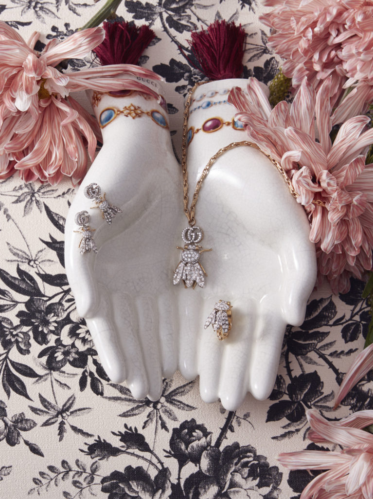 Gucci Fine Jewelry - advertising - Photographer Fulvio Bonavia - stylist Rossana Mazza
