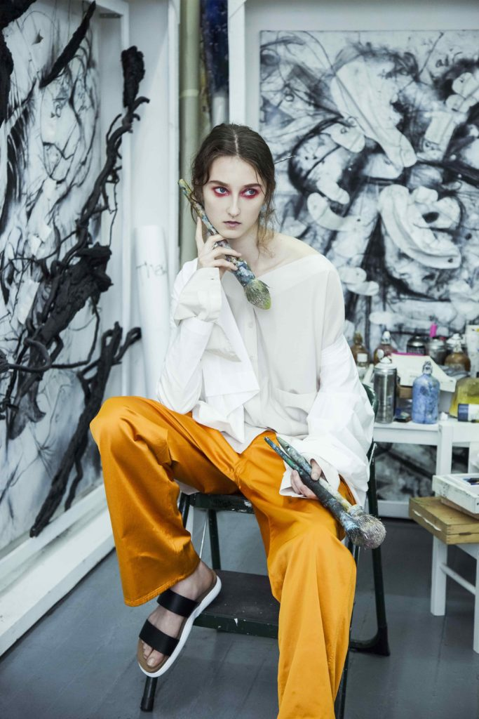 Vulture - magazine - Photographer Tania Alineri - stylist Giulia Meterangelis