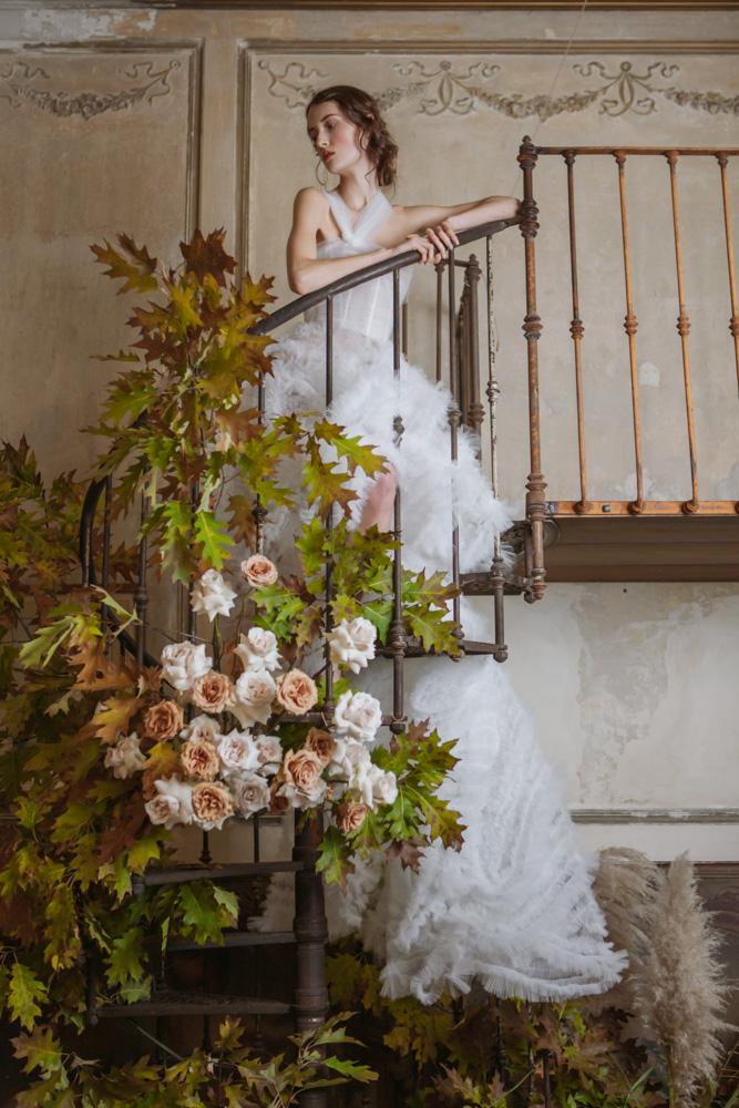 Vogue Wedding - Photographer Monia Merlo - stylist Rossana Mazza