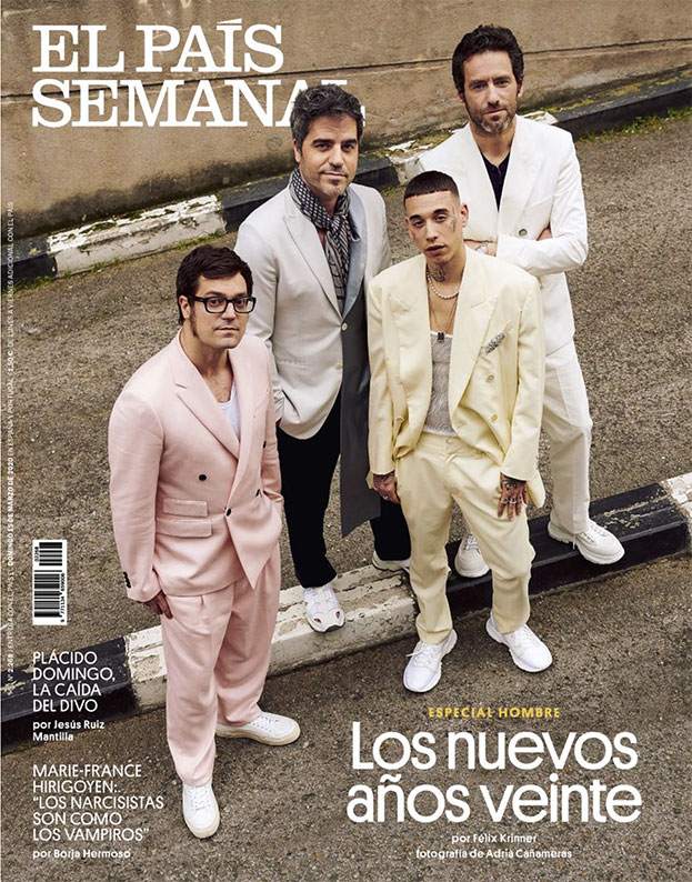 El Pais - magazine - Photographer Adrià Cañameras - Stylist Enrique Campos - Kaydy Cain Castro - Borja Sémper - Ernestose Villa