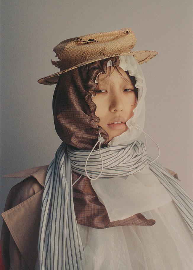 Jane - Photographer Pascale Arnaud - Stylist Giulia Meterangelis
