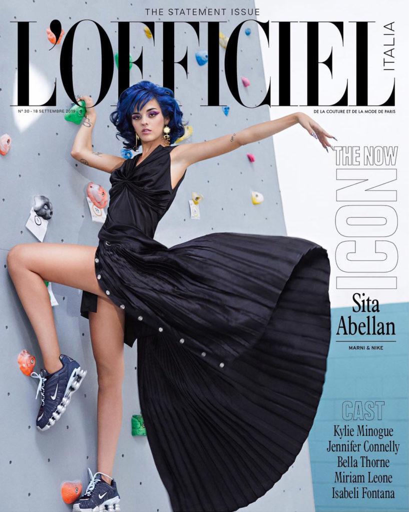 L'Officiel Italia - magazine - Photographer Fabio Leidi - Stylist Giulio Martinelli - Make Up Riccardo Morandin - Sita Abelan