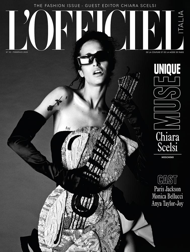 L'Officiel Italia - magazine - Photographer Francis Delacroix - Stylist Giulio Martinelli - Make Up Riccardo Morandin - Chiara Scelsi