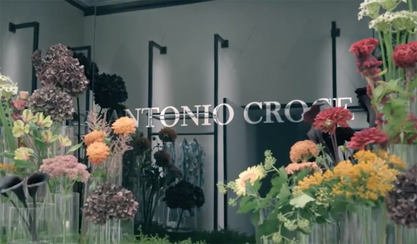 antonio croce - ss18 - hair daniel Manzini