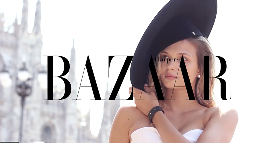 Cover Story for Harper's Bazaar Thailand - hair daniel manzini