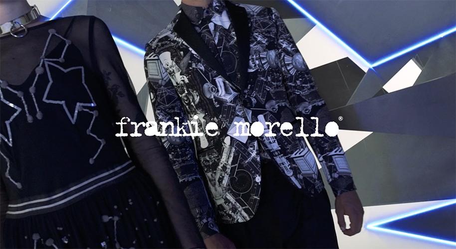 Frankie Morello FW 2017 - hair daniel manzini