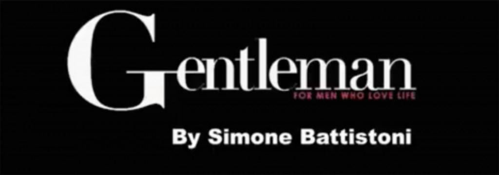 Gentleman By Simone Battistoni Make up grooming Giovanni Iovine