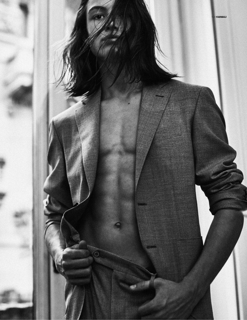 mmscene - Oliver Sonne - Photographer Fabio Leidi - Stylist Emily Lee