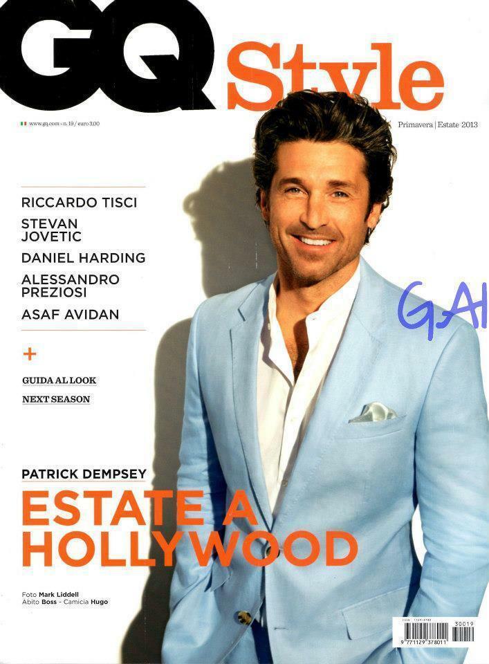 Gq Style - Patrick Dempsey - Stylist Ildo Damiano