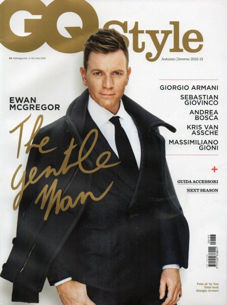 Gq Style - Ewan McGregor - Stylist Ildo Damiano