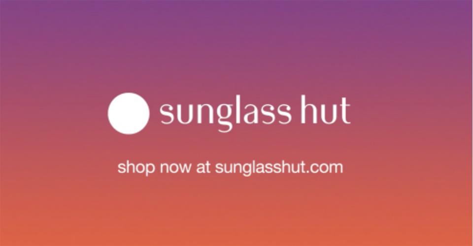 Sunglass Hut Holiday campaign - Make up Kate Mur