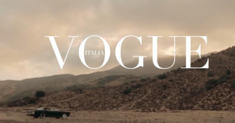 On the road by Michel Comte | April 2015 | Fashion Story | Vogue Italia - stylist Giulio Martinelli