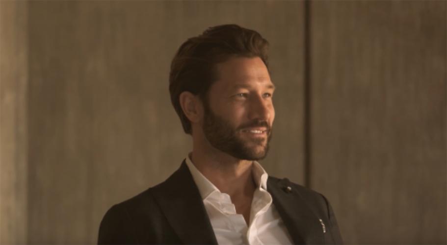 Wall Street Italia Magazine - model John Halls - grooming Giovanni Iovine