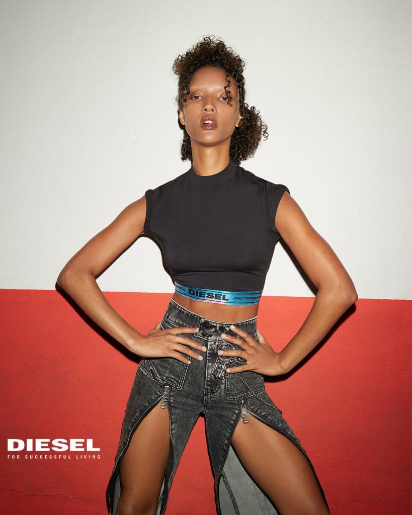 Diesel - hair Massimo Di Stefano adv portfolio