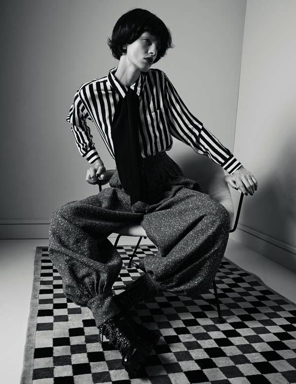 Io donna magazine - styling Alessandra Corvasce - photographer Dancian