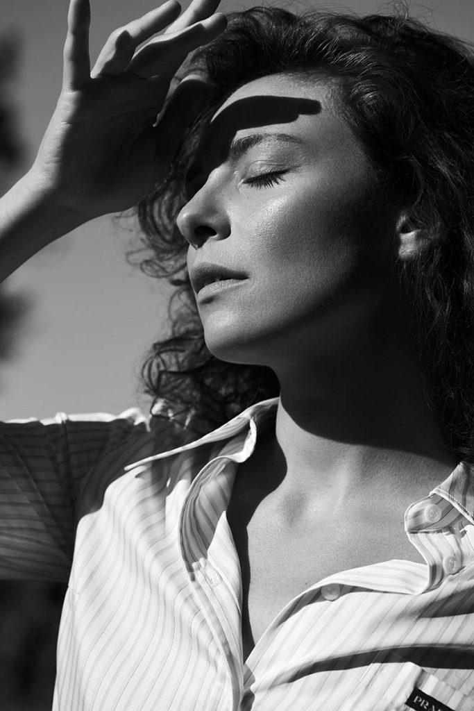 Jasmine Trinca - Photographer Agata Pospieszynska - stylist Alessandra Corvasce