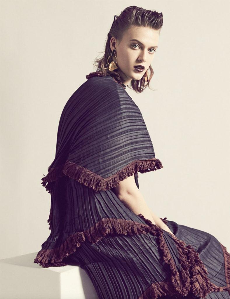 Io donna magazine - styling Alessandra Corvasce - photographer Dancian - hair Marco Minunno