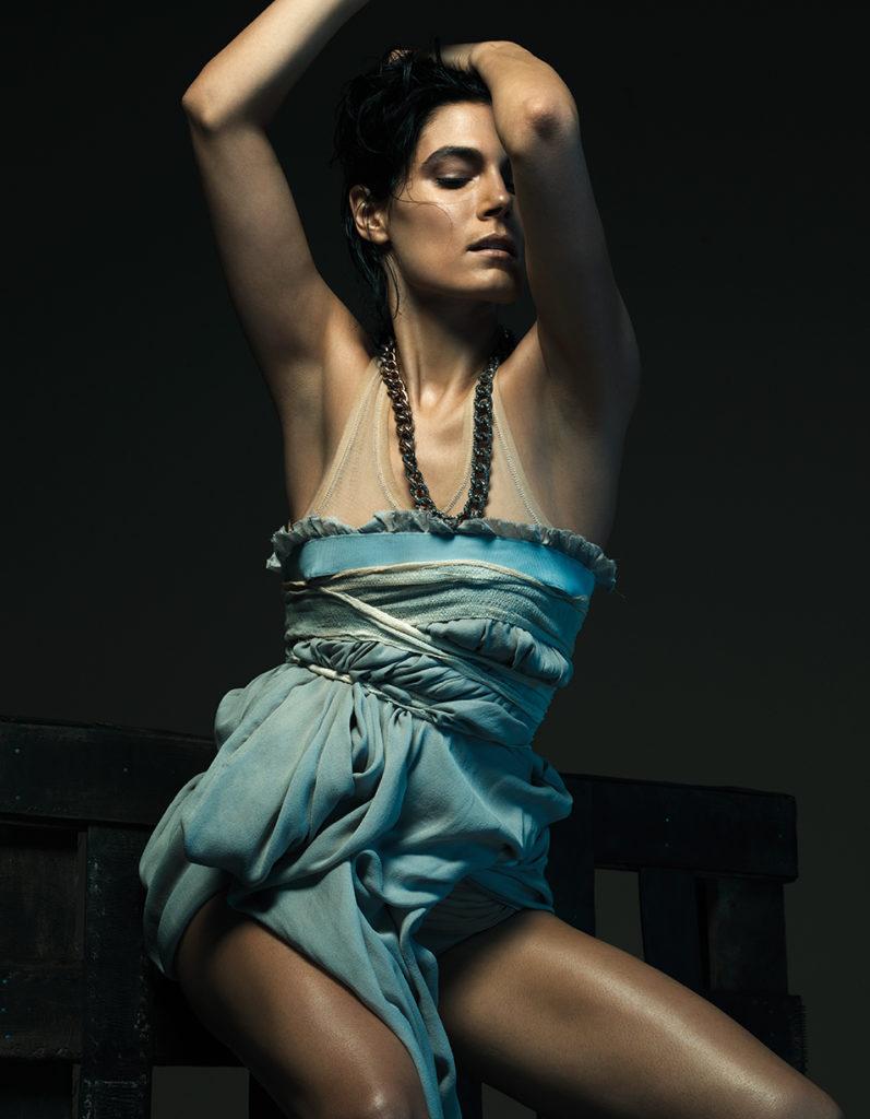 Valeria Solarino - Io donna - Photographer Gianluca Fontana - stylist Alessandra Corvasce