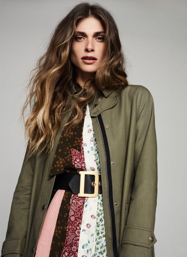 Elisa Sednaoui - Io donna - cover - stylist Alessandra Corvasce
