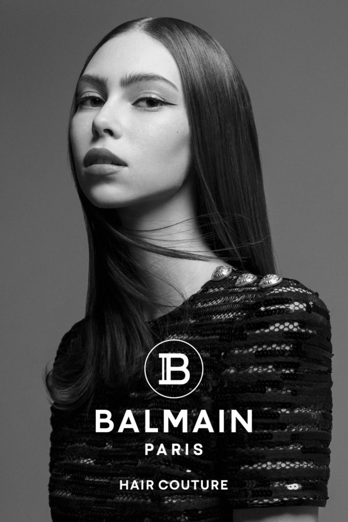 Balmain hair couture - hair Massimo Di Stefano - photographer Edwin S Freyer