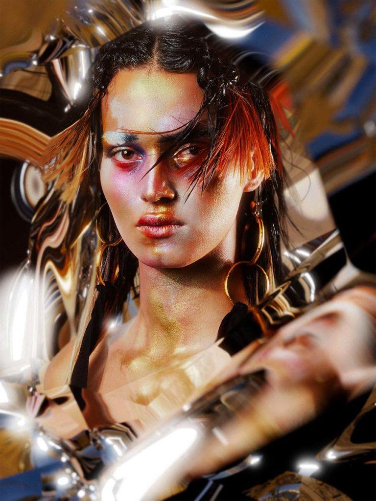 TANK Magazine - photographer Gourau & Phong - make-up Hugo Villard