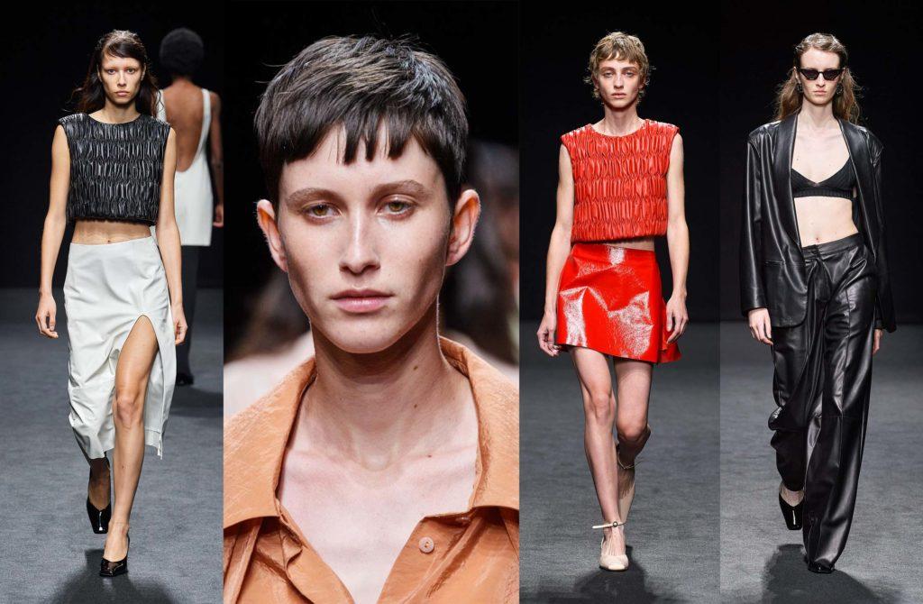 Drome - ss21 - hairstylist Davide Diodovich - make-up artist Karin Borromeo