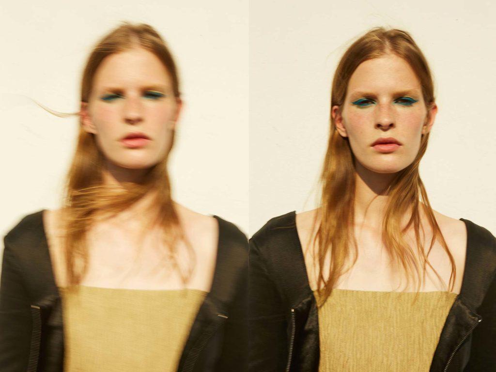 Duel magazine - photographer Tassili Calatroni - make-up artist Riccardo Morandin