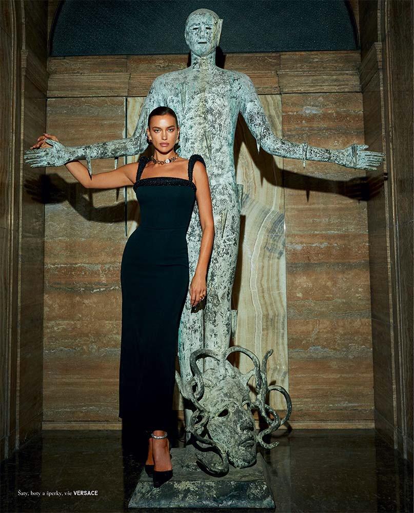 Vogue Cs - model Irina Shayk - stylist Alba Melendo - Photographers Morelli Brothers