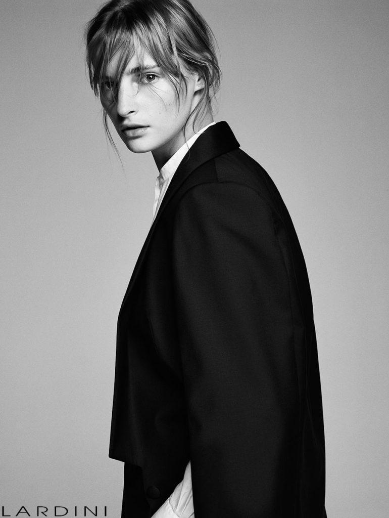 Lardini styling Alessandra Corvasce - make-up Augusto Picerni - photo Letizia Ragno adv