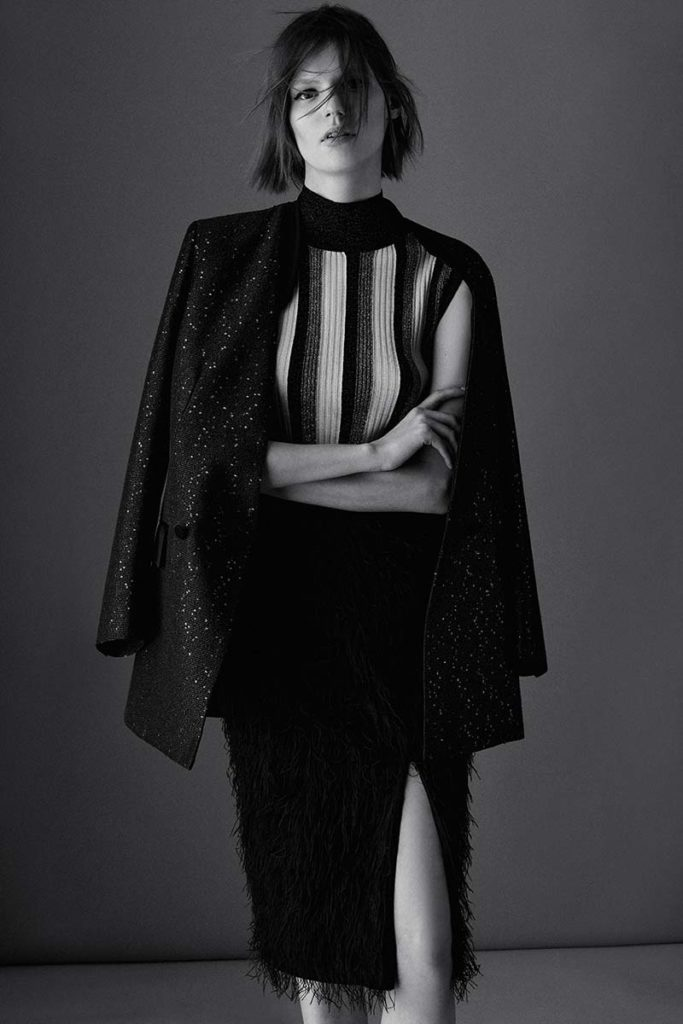 Lorena Antoniazzi - styling Alessandra Corvasce - photographer Giorgio Codazzi - make-up artist Giovanni Iovine