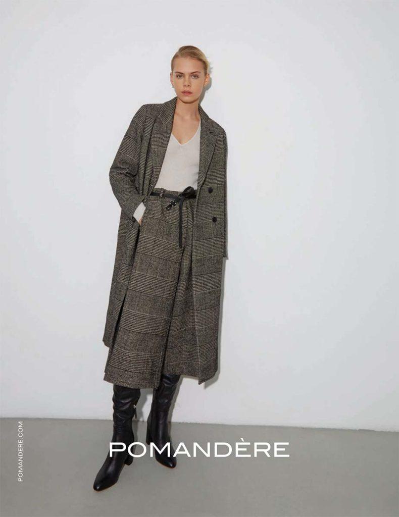 Pomandere - fw20 - photographer Nick Hudson - hair & make-up Augusto Picerni