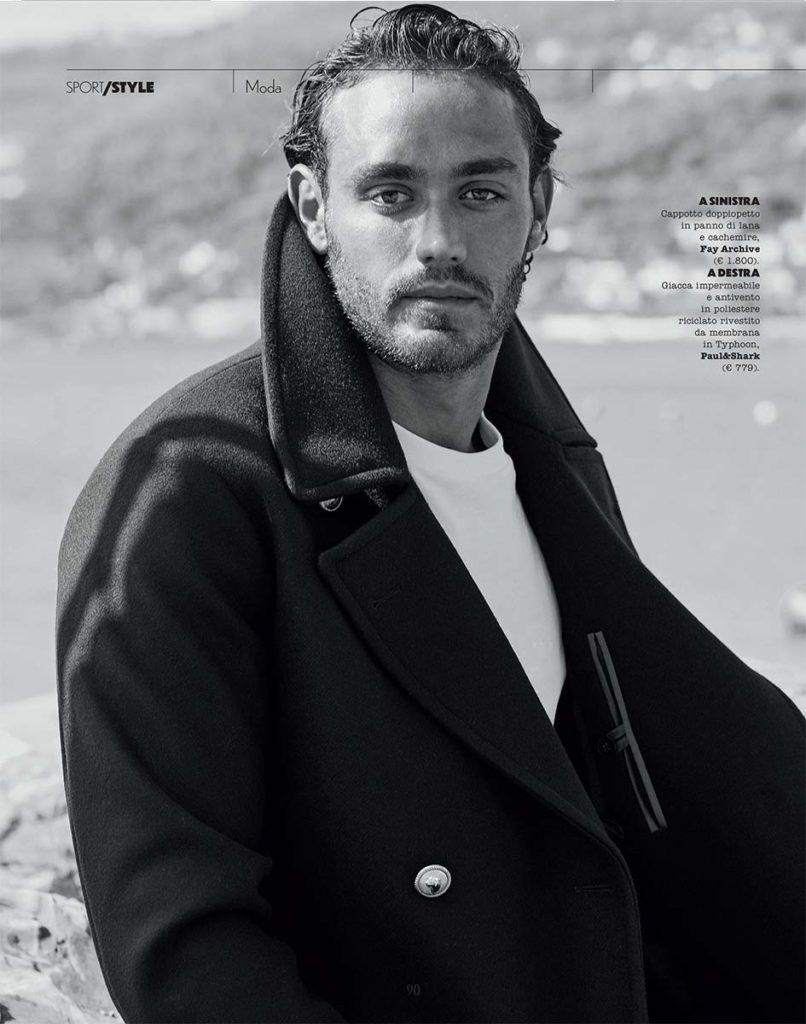 Sportweek magazine - Val Garat - photographer Nicola De Rosa - hair - Francesco Avolio