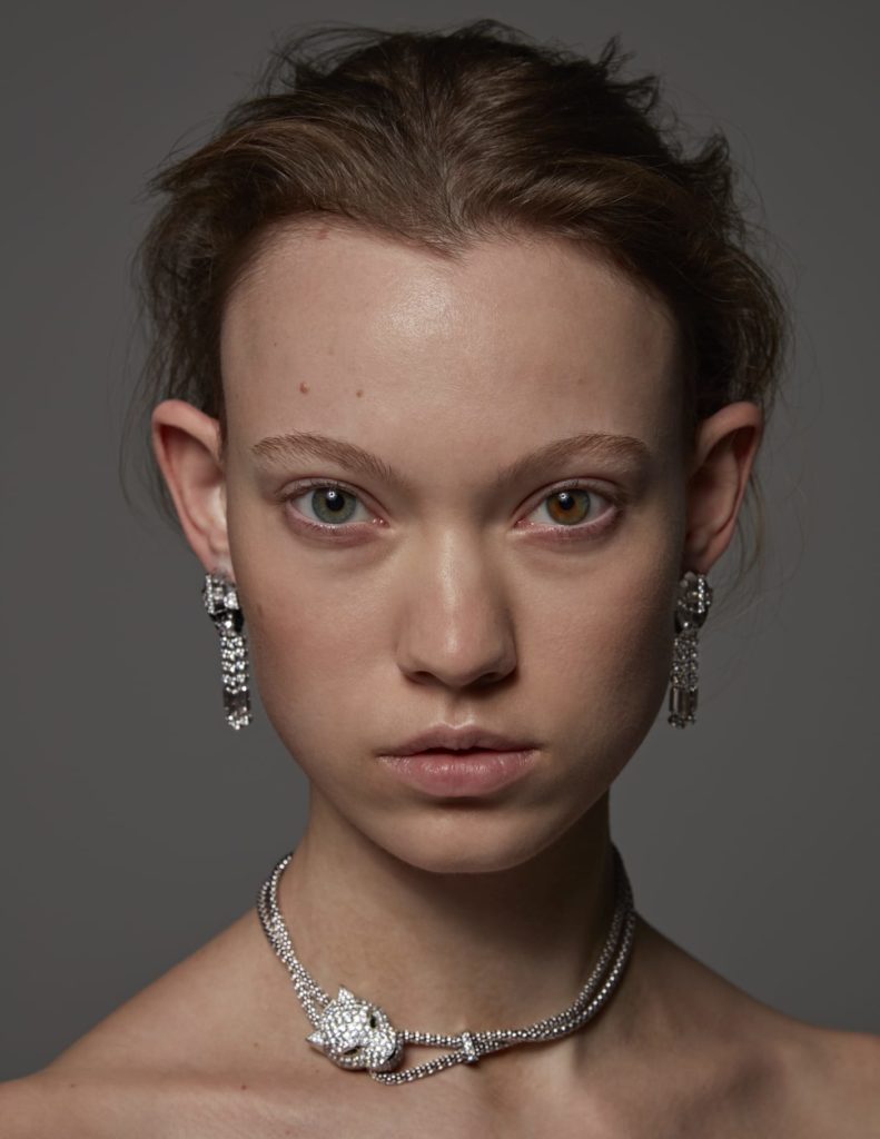Vanity fair - photographer Alberto Maria Colombo - make-up Riccardo Morandin