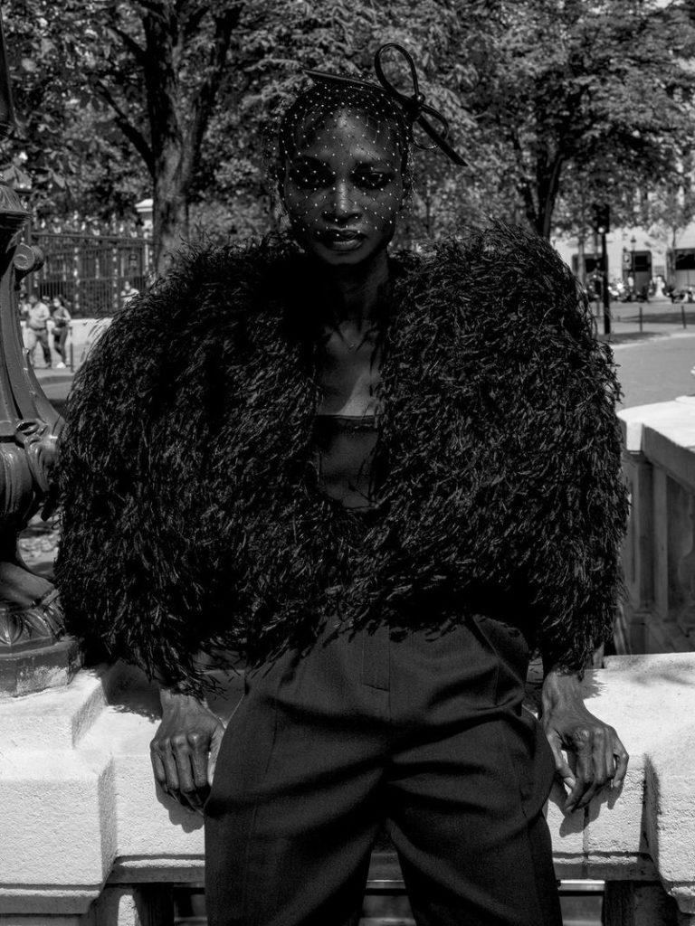 Cr Fashion Book - Carine Roitfeld - Photographer Fabien Montique - Stylist Marie Siwar Cheiakh - Make Up Hugo Villard