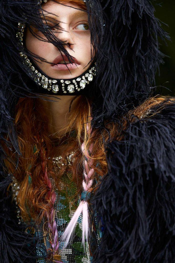 Mia le journal - photographer Poalo Musa - hair Liv Holst