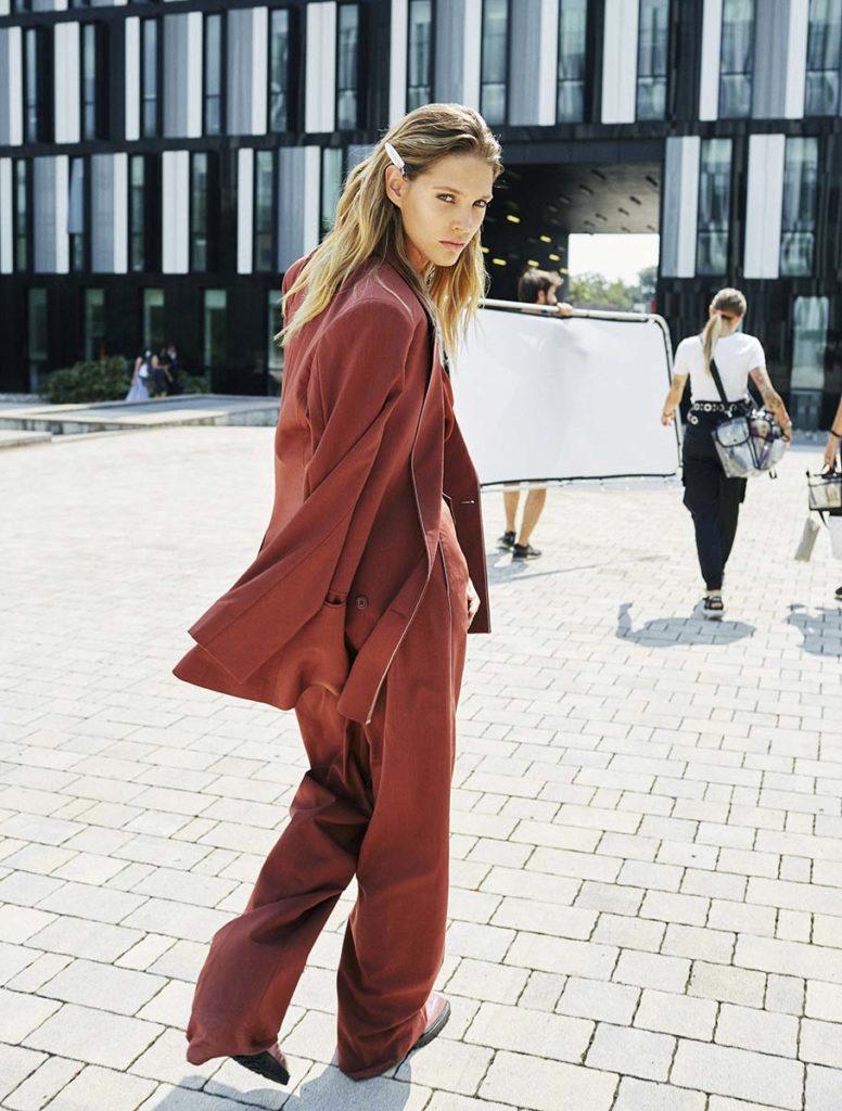 Io donna - magazine - photographer Paolo Musa - model Rosmary Gomez
