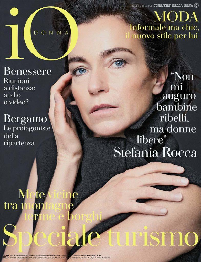 Io Donna - photographer Nicola De Rosa - make-up Roman Gasser
