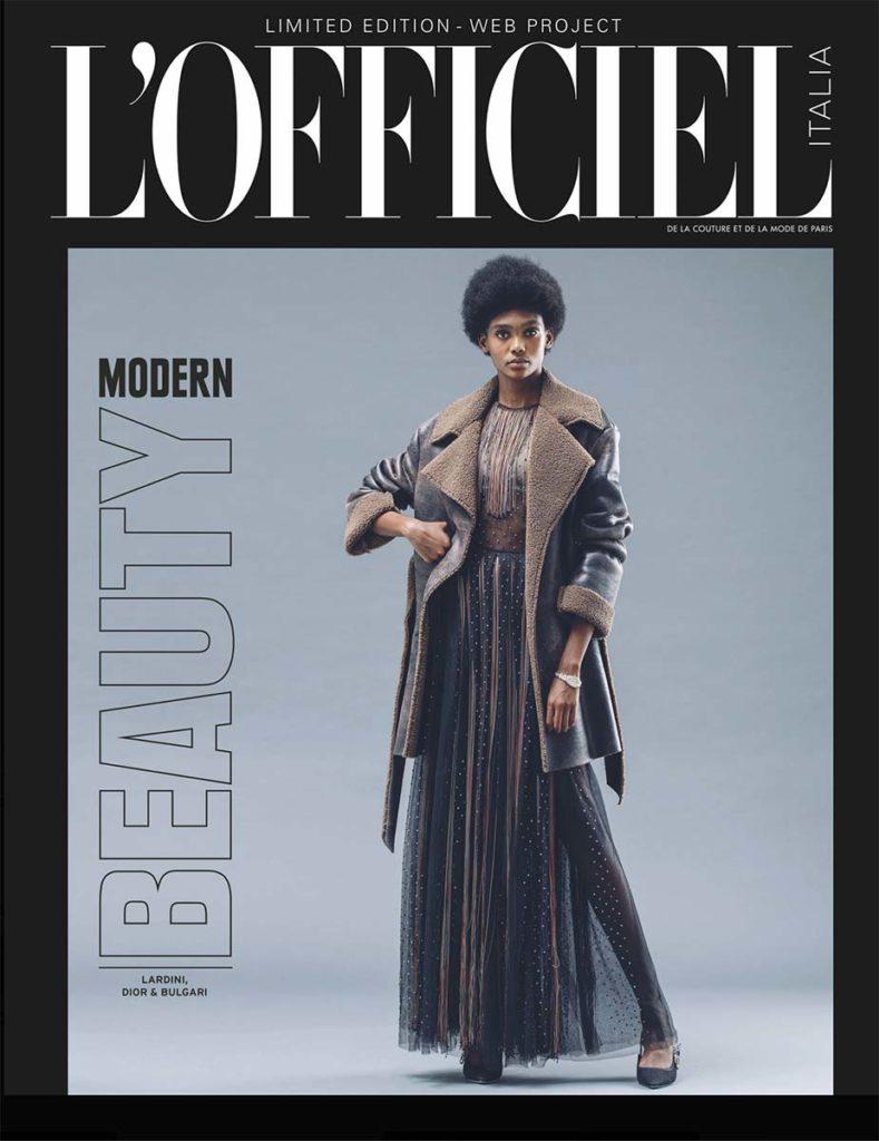 L'officiel Italia - make-up Riccardo Morandin - styling Giulio Martinelli - photographer Andrea Valletti