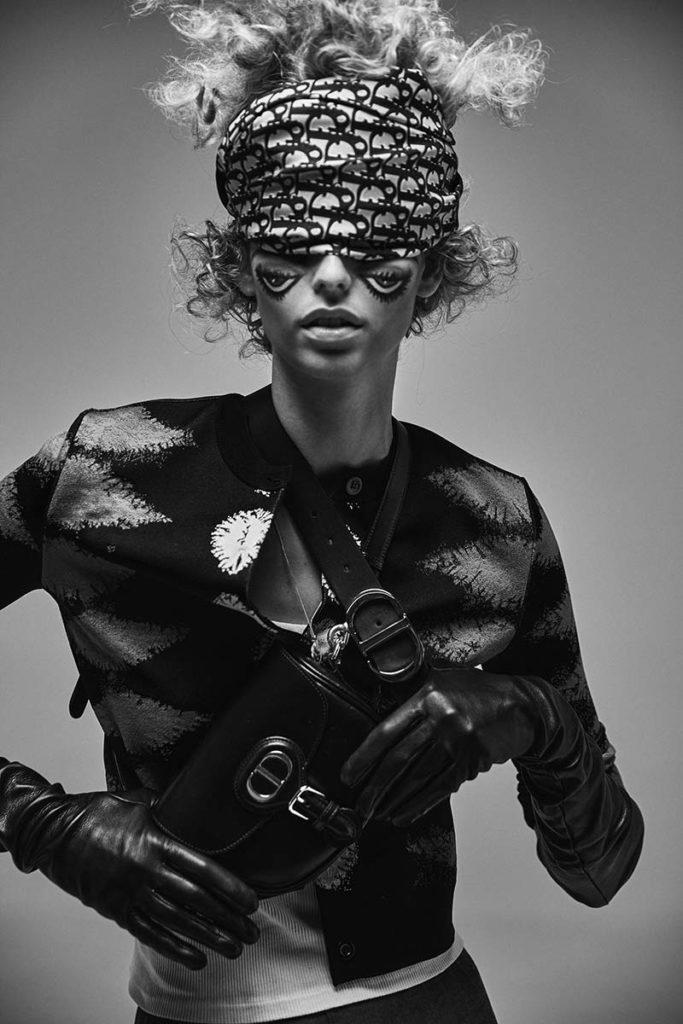 L'officiel italia - digital icon - photographer Paolo Musa - make-up Riccardo Morandin