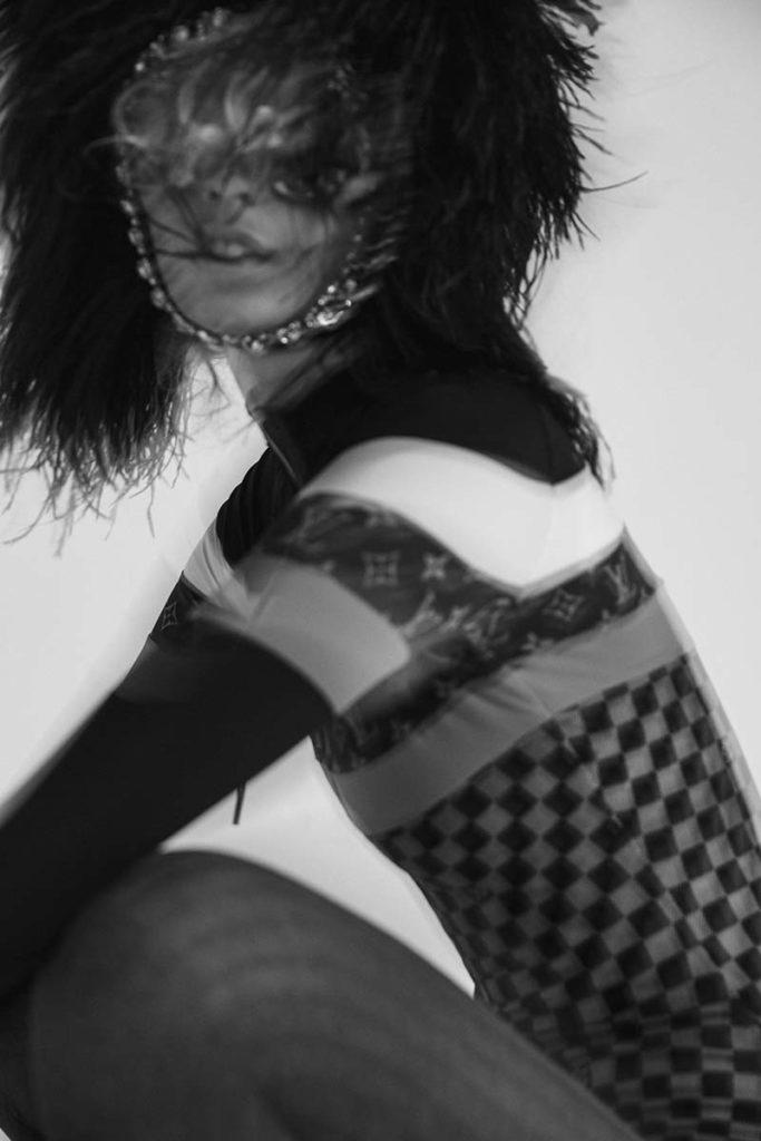 L'officiel Italia - make-up Riccardo Morandin - photographer Paolo Musa
